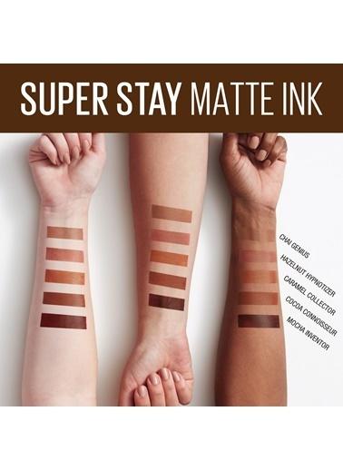 Maybelline Maybellıne Super Stay Matte Ink Kalıcı Likit Mat Ruj 275 Mocha Inventor Bordo